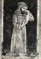 Cartolina Antica VERO RITRATTO DI SAN FRANCESCO D'ASSISI, Ed. Santuario Francescano Di Greccio (Rieti), Anni '50 - R24 - Pittura & Quadri