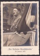 AK Propaganda / DER BEFREIER DEUTSCHLANDS / 30 Januar 1933 / EINRIß !! - War 1939-45