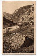 Gorges Du Tarn -- Près LA MALENE -- Les Gorges  .....timbre ..... Cachet  LES VIGNES -48......à Saisir - Gorges Du Tarn