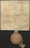 Bayern - Vorphilatelie: 1782. Pfaffenhofen, Steigbrief (= Notarielle Ersteigerungs-Urkunde Für Immob - Duitsland