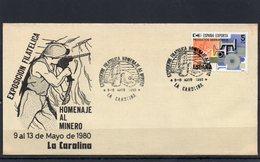 1980 ESPAGNE HOMENAJE AL MINERO LA CAROLINA - FDC