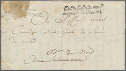 "Frankreich - Militärpost / Feldpost - Preußen: 1794, ""DEBOURSE/ARMEE DE LA MOSELLE"", Schwarzer L2 Rü - Duitsland"