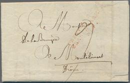 "Frankreich - Militärpost / Feldpost - Preußen: 1807, ""PREMIER CORPS/GRANDE ARMEE/No. 4"", Roter L3 De - Duitsland"