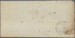 """Frankreich - Militärpost / Feldpost - Preußen: 1809, """"No 1 DEB/ARMEE DU RHIN"""", Schwarzer L2 Klar Rs. - Duitsland"""