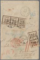 Norddeutscher Bund - Marken Und Briefe: 1870 Destination BRASILIEN: Kleiner Briefumschlag Von Bucken - North German Conf.