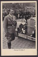 AK Propaganda / Ankunft Des Führers / Adolf Hitler / Mercedes .. Spendenkarte - Weltkrieg 1939-45