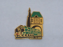 Pin's LOCOMOTIVE 231 G 558  02 - TGV