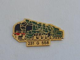 Pin's LOCOMOTIVE 231 G 558  03 - TGV