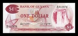 Guyana 1 Dollar 1966-1992 Pick 21f SC UNC - Guyana