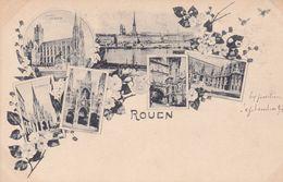 SEINE MARITIME – Septembre 1897  ROUEN – Multivues - Autres Communes