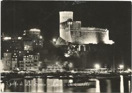 Y5362 Lerici (La Spezia) - Il Castello - Panorama Notturno Notte Nuit Night Nacht Noche / Viaggiata 1964 - Autres Villes