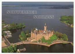 Germany - Schwerin / Schweriner Schloss - Luftaufnahme (Castle-Château) - Castelli