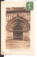 49. Thouars. Portique De L'Eglise De St Médard. (XII°- XV° Siècles). De L. Dumat Et Magde ?? à Mme Morant à Asnières - Thouars