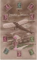 3-Filatelia-Aviazione-Francobolli Francesi-v.1913 Dal Belgio X Bruxelles - Briefmarken (Abbildungen)