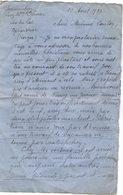 VP16.766 - 1927 - Musique - Lettre De Mr PARMENTIER Chez Mme Veuve LEMER à GERADMER Pour Mme COULON - Manuscrits