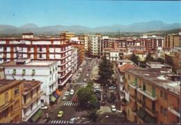 Battipaglia  Corso Roma Con Auto Anni '70 - Battipaglia