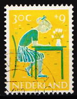 Netherlands Cancelled Stamp - Childhood & Youth
