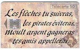 Les Flèches Tu Suivras, Les Pirates éviteras, Moult Argent Gagneras Tes Amis Appelleras. - L'île Au Trésor 10f - Spelletjes