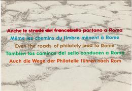 8-Filatelia-Esposizione Mondiale Italia 85-Poste E Telecomunicazioni - Briefmarken (Abbildungen)