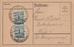 DR Karte Mef Minr.2x 314 SST Sebnitz 19.10.23 - Deutschland