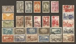 Maroc - Protectorat Français - Petit Lot De 30 Timbres° - Postzegels