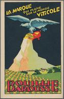 Ansichtskarten: Motive / Thematics: WERBUNG / REKLAME, 40 Verschieden Plakative Französische Werbeka - Ansichtskarten