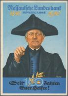 Ansichtskarten: Motive / Thematics: WERBUNG / REKLAME, 45 Historische Ansichtskarten, Faltblätter Un - Ansichtskarten