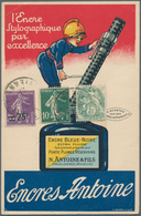 Ansichtskarten: Motive / Thematics: WERBUNG / REKLAME, 46 Zum Teil Sehr Plakative Historische Nation - Ansichtskarten