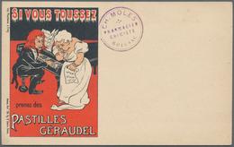 Ansichtskarten: Motive / Thematics: WERBUNG / REKLAME, Anspruchsvolle Sammlung Mit über 200 Historis - Ansichtskarten