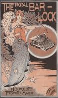 Ansichtskarten: Motive / Thematics: WERBUNG / REKLAME, Mappe Mit 15 Alten Werbeanzeigen Und Prospekt - Ansichtskarten