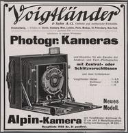 Ansichtskarten: Motive / Thematics: WERBUNG / REKLAME, Mappe Mit über 30 Alten Werbeanzeigen Und Pro - Ansichtskarten