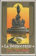 Ansichtskarten: Motive / Thematics: WERBUNG / REKLAME, Sehenswerte Sammlung Mit 69 Historischen Rekl - Ansichtskarten