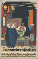 Ansichtskarten: Motive / Thematics: WERBUNG / REKLAME, Sehenswerter Bestand An 81 Dekorativen Und Pl - Ansichtskarten