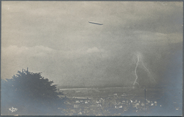 Ansichtskarten: Motive / Thematics: ZEPPELIN: Ca 185 Zeppelin Postcards And A Few Photos, With A Lar - Ansichtskarten