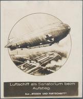 Ansichtskarten: Motive / Thematics: ZEPPELIN: Over 140 Zeppelin Postcards, Mostly Real Photos With T - Ansichtskarten