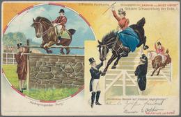 Ansichtskarten: Motive / Thematics: ZIRKUS / VARIETÉ, Sehenswerte Zusammenstellung Mit über 140 Hist - Ansichtskarten