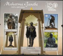 GUYANA, 2019, MNH, GANDHI, SHEETLET - Mahatma Gandhi