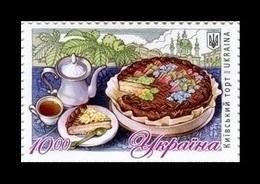 Ukraine 2019 Mih. 1795 Gastronomy. Kiev Cake MNH ** - Ucrania
