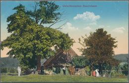 Ansichtskarten: Ehemalige Ostgebiete: SCHLESIEN / OBERSCHLESIEN, Schachtel Mit 100 Historischen Ansi - Schlesien