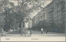 Ansichtskarten: Ehemalige Ostgebiete: STETTIN Pommern, Kleine Garnitur Mit 22 Historischen Ansichtsk - Schlesien