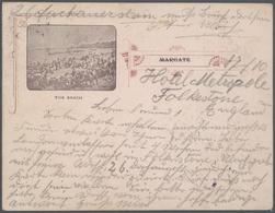 Ansichtskarten: Großbritannien - 1896/1935, Umfangreicher Bestand Von Ca. 16800 Historischen Ansicht - Ansichtskarten