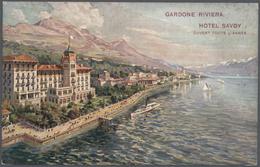 Ansichtskarten: Italien - 1898/1940, Trentino Mit Dem Gardasee Als Sehr Umfangreicher Bestand Von Fa - Ansichtskarten