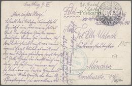Ansichtskarten: Zeppelinpost Deutschland - 1912/1930, Europa, Sammlung Von Knapp 100 Belegen Mit Fel - Ansichtskarten
