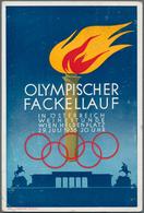 Ansichtskarten: Vielseitiger Bestand Mit Rund 700 Karten, Dabei Propaganda WK I, Olympiade, Soldaten - Ansichtskarten
