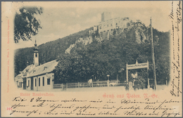 Ansichtskarten: KARTON, Mit Gut 1300 Historischen Ansichtskarten Ab Ca. 1900 Bis In Die 1970er Jahre - Ansichtskarten