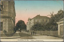 Ansichtskarten: KARTON, Mit Knapp 1300 Historischen Ansichtskarten Ab Ca. 1900 Bis In Die 1970er Jah - Ansichtskarten