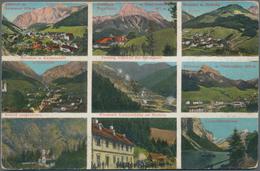 Ansichtskarten: KARTON, Mit Ungefähr 1300 Historischen Ansichtskarten Ab Ca. 1900 Bis In Die 1970er - Ansichtskarten