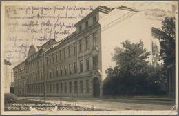 Ansichtskarten: KARTON, Ungefähr 1300 Historischen Ansichtskarten Ab Ca. 1900 Bis In Die 1970er Jahr - Ansichtskarten