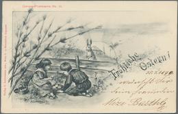 Ansichtskarten: KARTON, Mit Gut 1200 Historischen Ansichtskarten Ab Ca. 1897 Bis In Die 1970er Jahre - Ansichtskarten