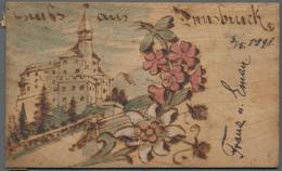 Ansichtskarten: REISEDOKUMENTATION Von 1898 Anhand Von 53 Historischen Ansichtskarten Mit Zahlreiche - Ansichtskarten